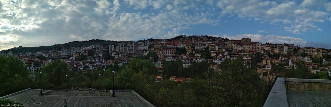 Панорама Велико-Тырново
