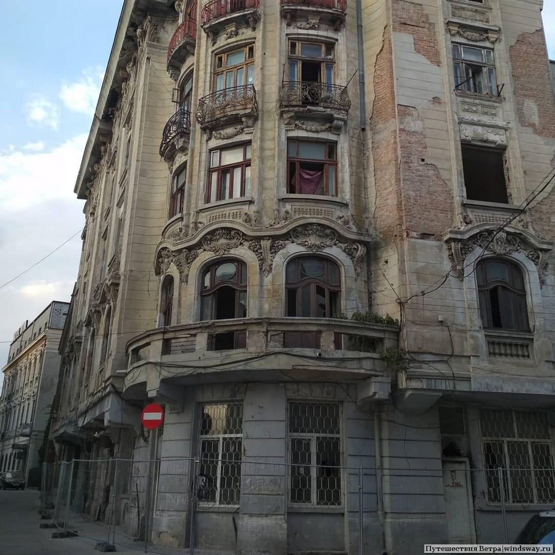 Брошенные дома в румынской констанце
