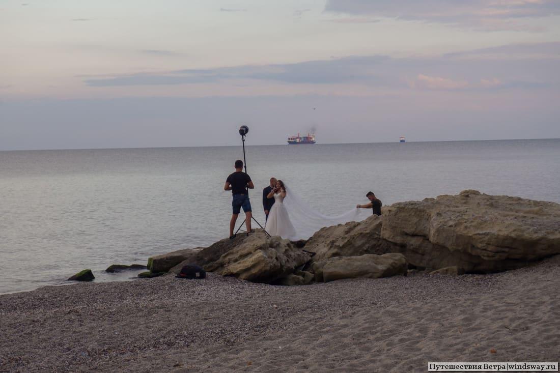 Свадьба на пляже у Варны