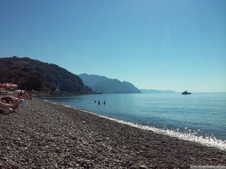 И пляж Сарпи