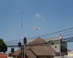 Типичная посадка самолёта