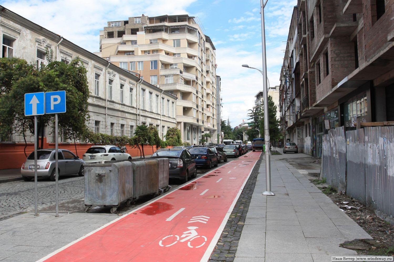 Велодорожка в Грузии