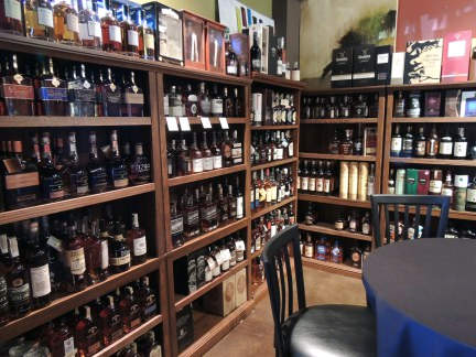 Our Huge Whiskey Selection