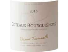 DOMAINE DAVID TROUSSELLE COTEAUX BOURGUIGNONS ROSE 2018