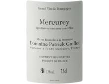 DOMAINE PATRICK GUILLOT MERCUREY EN BOUSSOY ROUGE 2018