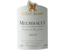 DOMAINE SAINT MARC BOIS DE BLAGNY MEURSAULT BLANC 2018