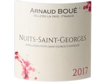 NUITS-SAINT-GEORGES ROUGE 2017 - ARNAUD BOUÉ