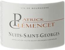 PATRICK CLEMENCET NUITS SAINT GEORGES ROUGE 2018