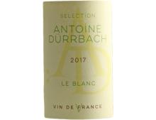 VIN DE FRANCE VALLEE DU RHONE SELECTION ANTOINE DURRBACH BLANC 2017