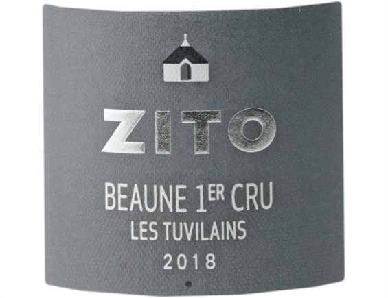 BERNARD ZITO BEAUNE 1ER CRU LES TUVILAINS ROUGE 2018