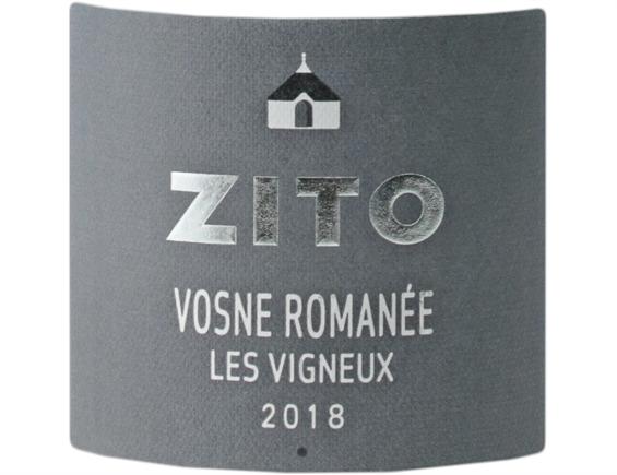 BERNARD ZITO LES VIGNEUX VOSNE-ROMANEE ROUGE 2018