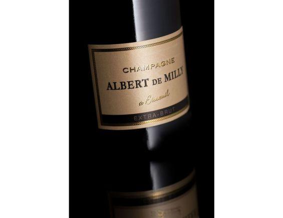CHAMPAGNE ALBERT DE MILLY EXTRA BRUT BLANC