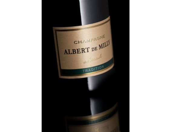 CHAMPAGNE ALBERT DE MILLY TRADITION