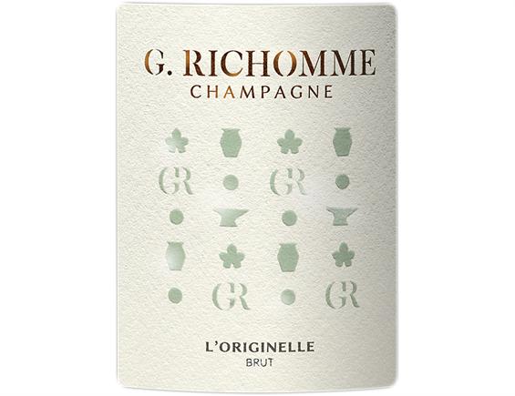 CHAMPAGNE L'ORIGINELLE BRUT BLANC - CHAMPAGNE G. RICHOMME