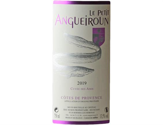 CHATEAU ANGUEIROUN PETIT ANGUEIROUN COTES DE PROVENCE ROSE 2019