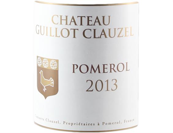 CHATEAU GUILLOT CLAUZEL POMEROL ROUGE 2013