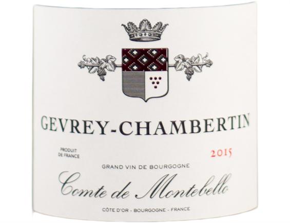 COMTE DE MONTEBELLO GEVREY-CHAMBERTIN ROUGE 2015