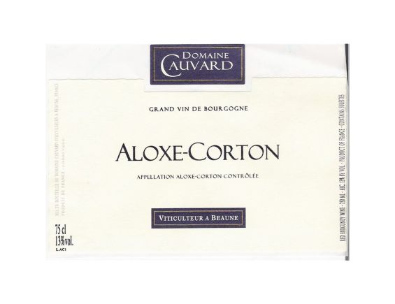 DOMAINE CAUVARD ALOXE-CORTON ROUGE 2017