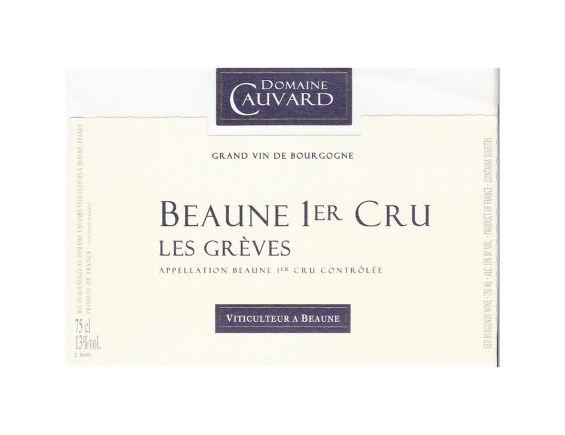 DOMAINE CAUVARD BEAUNE 1ER CRU LES GRÈVES 2017
