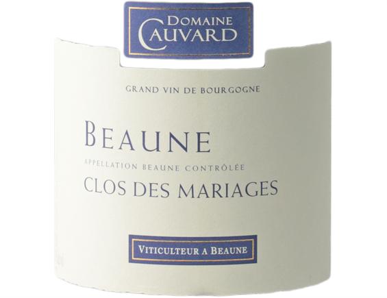 DOMAINE CAUVARD BEAUNE CLOS DES MARIAGES BLANC 2018