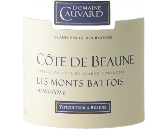 DOMAINE CAUVARD LES MONTS BATTOIS MONOPOLE COTE DE BEAUNE BLANC 2017