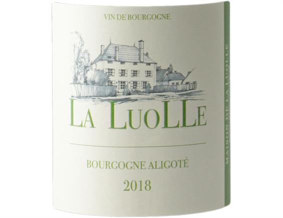 DOMAINE DE LA LUOLLE BOURGOGNE ALIGOTE BLANC 2018