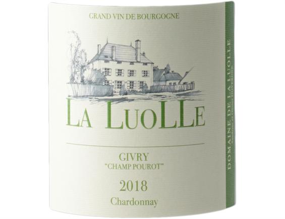 DOMAINE DE LA LUOLLE CHAMP POUROT GIVRY BLANC 2018