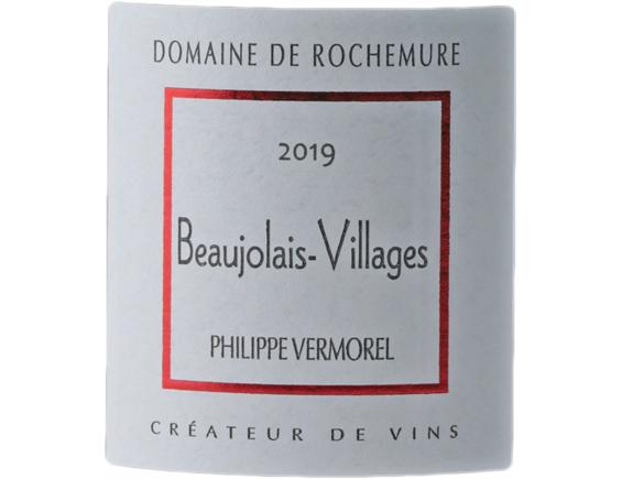DOMAINE DE ROCHEMURE BEAUJOLAIS VILLAGES ROUGE 2019