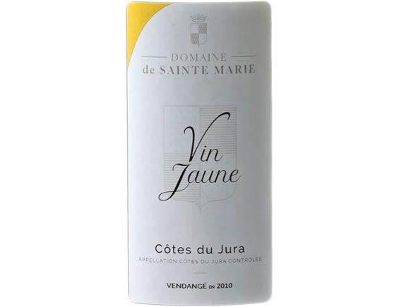 DOMAINE DE SAINTE MARIE COTES DU JURA VIN JAUNE BLANC 2010