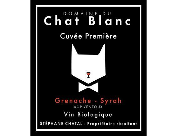 DOMAINE DU CHAT BLANC CUVÉE PREMIÈRE VENTOUX ROUGE 2019