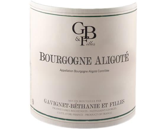 DOMAINE GAVIGNET-BETHANIE ET FILLES BOURGOGNE ALIGOTE BLANC 2018