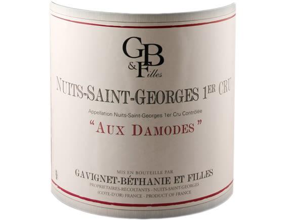 DOMAINE GAVIGNET-BETHANIE ET FILLES NUITS SAINT GEORGES 1ER CRU LES DAMODES ROUGE 2018