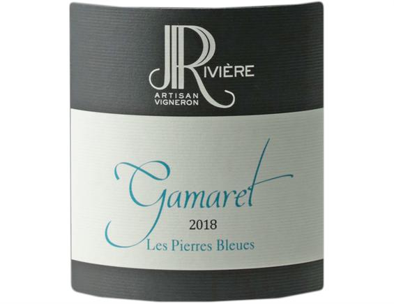 DOMAINE JEAN-PIERRE RIVIERE GAMARET LES PIERRES BLEUES COMTES RHODANIENS ROUGE 2018