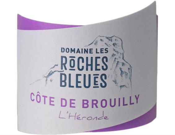 DOMAINE LES ROCHES BLEUES COTE DE BROUILLY L'HERONDE ROUGE 2016