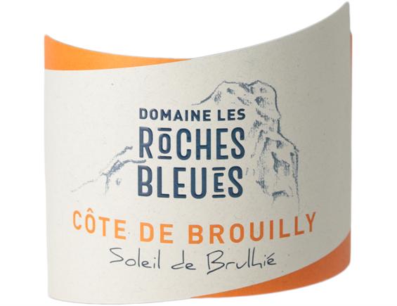 DOMAINE LES ROCHES BLEUES COTE DE BROUILLY SOLEIL DE BRULHIE ROUGE 2017