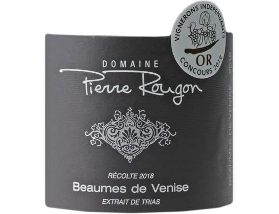 DOMAINE PIERRE ROUGON BEAUMES DE VENISE ROUGE 2018