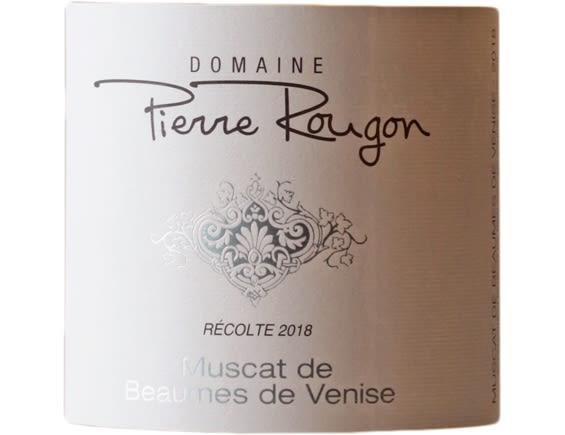 DOMAINE PIERRE ROUGON MUSCAT DE BEAUMES-DE-VENISE ROSE 2018