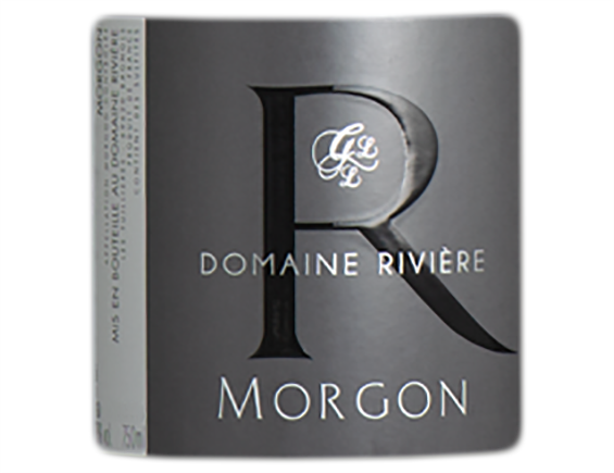 DOMAINE RIVIERE MORGON ROUGE 2017