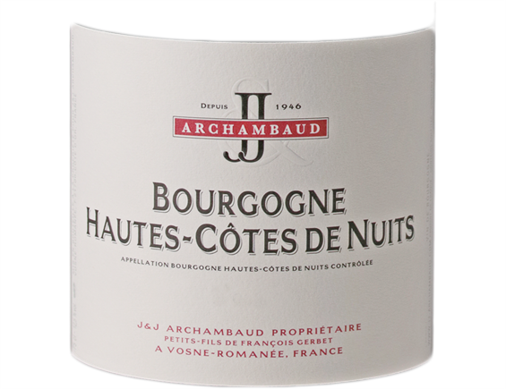 J&J ARCHAMBAUD HAUTES COTES DE NUITS ROUGE 2016