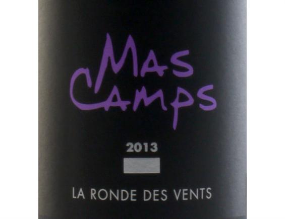 MAS CAMPS LA RONDE DES VENTS COTES DU ROUSSILLON VILLAGES ROUGE 2013