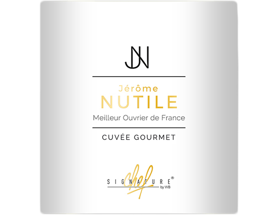 SIGNATURE CHEF  JEROME NUTILE CUVEE GOURMET  PAYS D'OC BLANC 2019