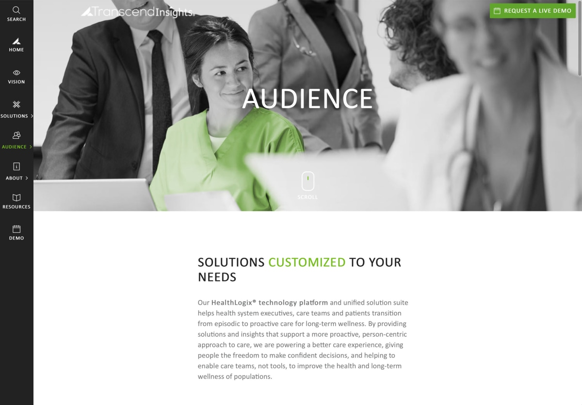 Transcend Insights audiences