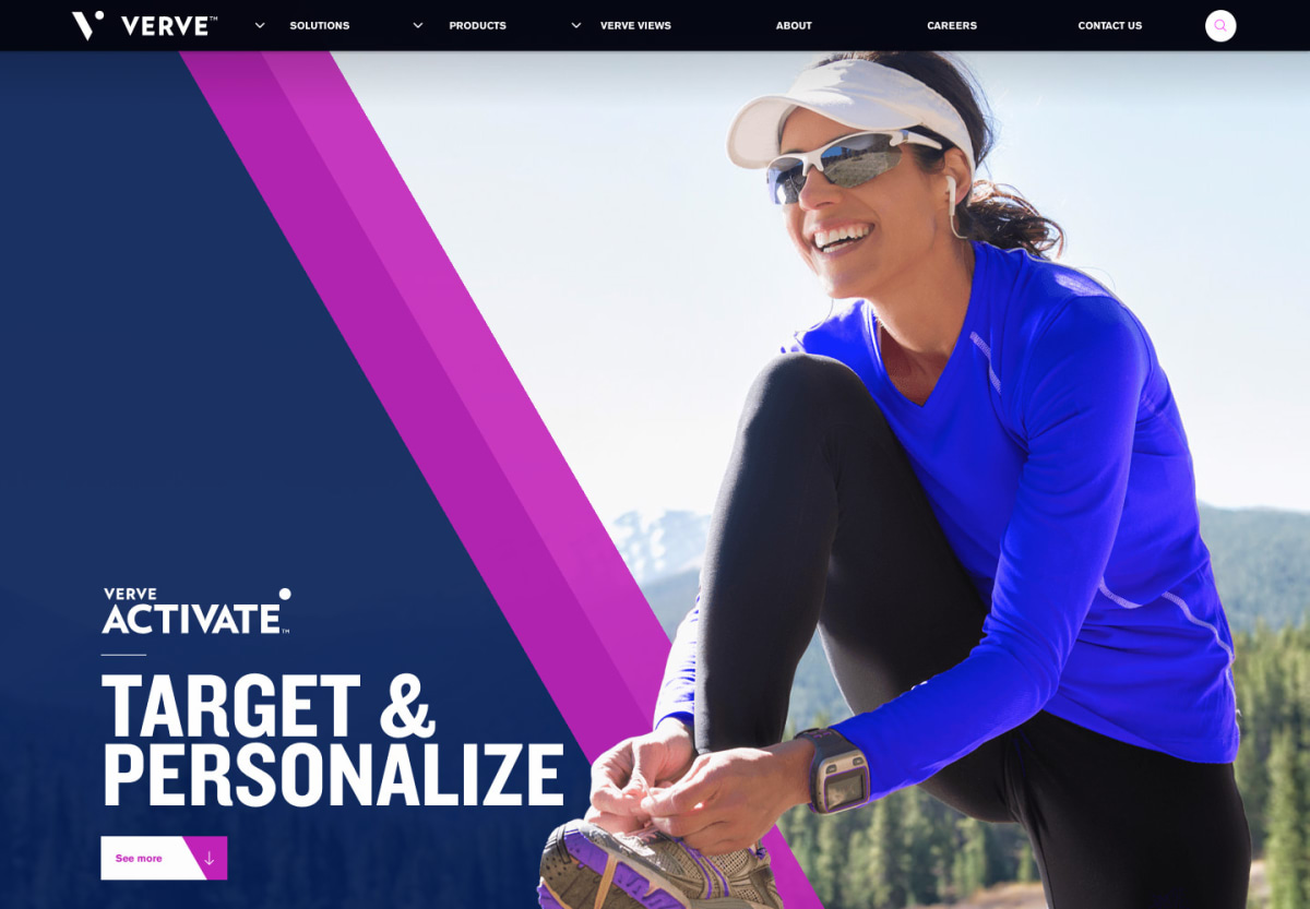 Verve Activate product page hero