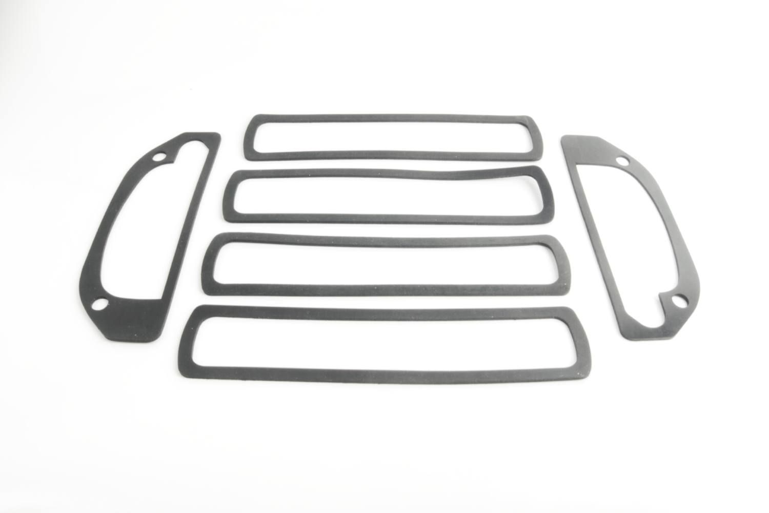 Image - Outer Door Handle, Rear Badge & Front Repeater Lamp - Rubber Gasket Set