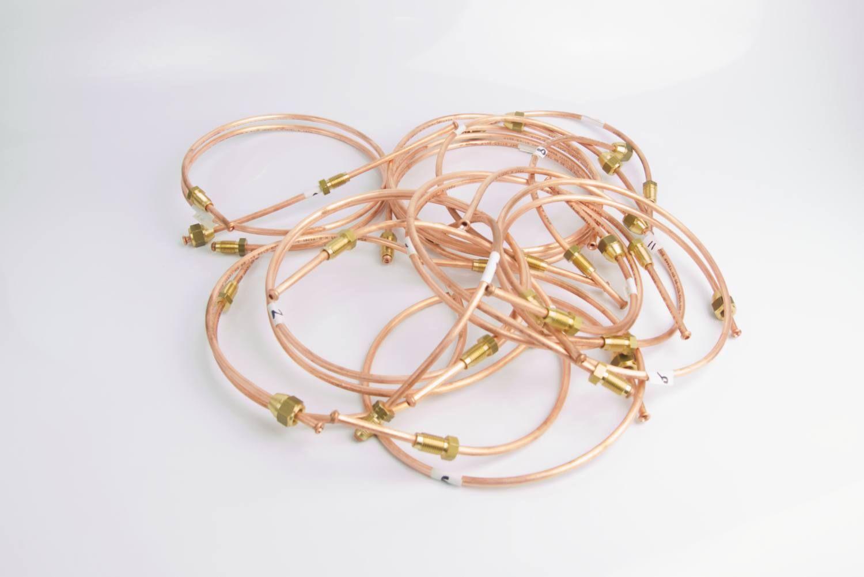Image - Copper Brake Pipe Kit - Non-Rotoflex (RHD)