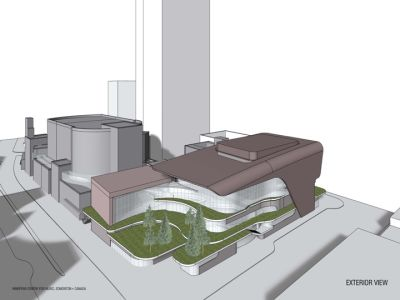 Winspear completion exterior view