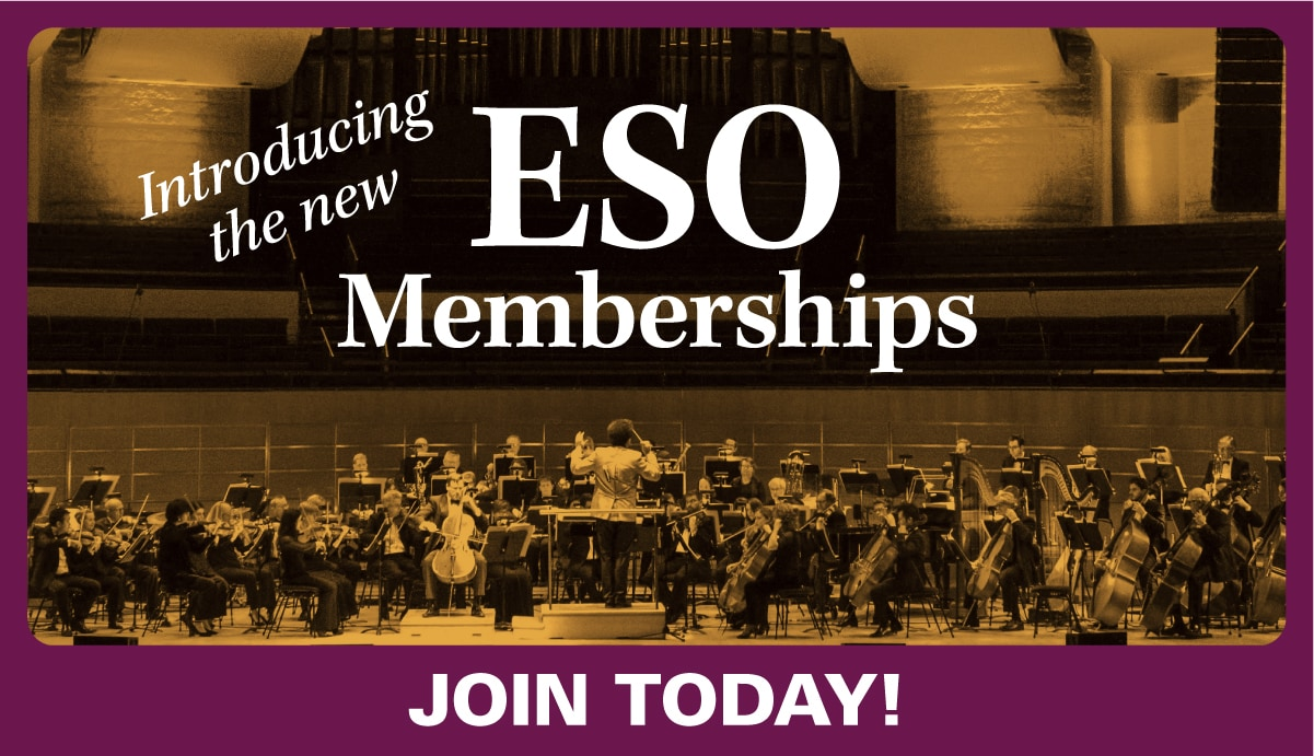 Introducing the new ESO Memberships. Starting at $34 a month. Join today!