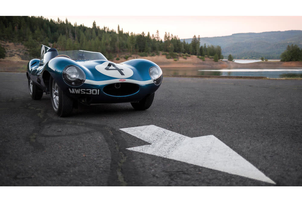 Die teuersten Autos der Welt, Jaguar D-Type 1955 – 18,48 Millionen Euro