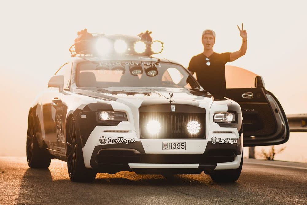 Jon Olsson hat sein neues Spielzeug vorgestellt – einen bitterbösen Rolls-Royce Wraith mit 810 PS.