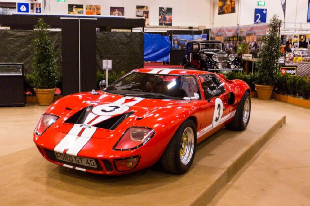 Der Ford GT40 aus dem Jahr 1964 zählt zu den schönsten Autos der Welt.